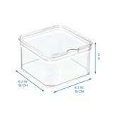iDesign Crisp Fridge & Pantry Square Container