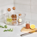 iDesign Crisp Fridge & Pantry Turntable with Handle