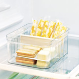 iDesign Crisp Fridge & Pantry Divided Container - Small