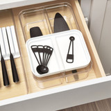 iDesign Crisp 2 Tier Drawer Organiser