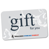 Howards Storage World Gift Card - $100