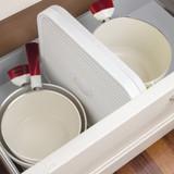 Guzzini Flat Dish Drainer - White
