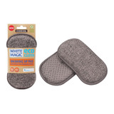 White Magic Eco Cloth Washing Up Pad - Charcoal