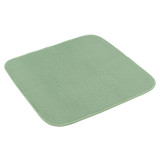 White Magic Eco Cloth Dish Drying Mat - Olive
