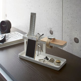 Tower Desk Organiser Tray - White