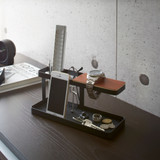 Tower Desk Organiser Tray - Black