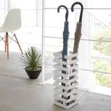Brick Umbrella Stand - White