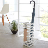 Brick Umbrella Stand - White