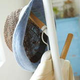 Yamazaki Standing Coat and Hat Rack - White