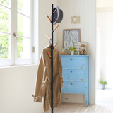 Yamazaki Standing Coat and Hat Rack - Black