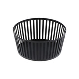 Tower Small Round Fruit Basket - Black