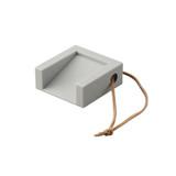 Cube Door Stop - Grey