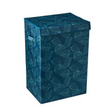 Howards Blue Botanica Laundry Hamper