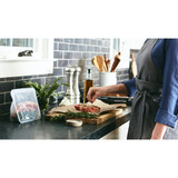 Stasher Silicone Stand-Up Fridge/Freezer Bag - Clear