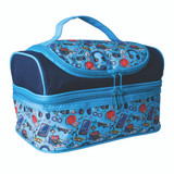 Avanti Yum Yum Double Decker Lunch Bag - Blue