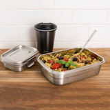 Avanti Dry Cell Airtight Stainless Steel Food Container 420ml