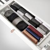 elfa Mesh Drawer Divider H85mm x W531mm 2-Piece - White