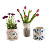 Fifi & Fran Face Pots - Assorted