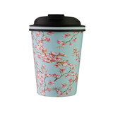 Avanti Go Cup Double Wall Insulated Travel Mug 280ml - Cherry Blossom