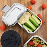 Avanti Dry Cell Airtight Stainless Steel Food Container 1L