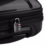 TSA 3 Dial Combination Luggage Lock - Black