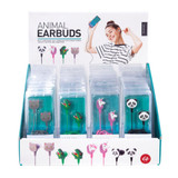 Animal Earbud Headphones - Assorted