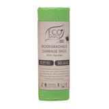 White Magic Eco Basics 10 Biodegradable Rubbish Bin Bags - 50L