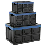 Collapse-A Collapsible Storage Box 23L - Black