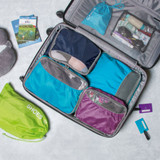 Packing Organisation Travel Cubes Set 3 - Blue