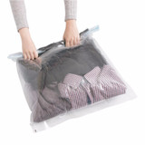 Travel Compression Bags 2 Pack - Clear
