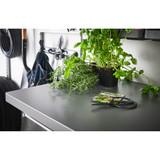 elfa 50 Click-In Metal Work Surface Shelf - Grey