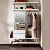 elfa Decor Accessory Mirror - White