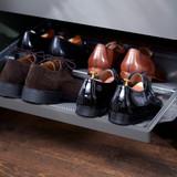 elfa Decor Fascia for Gliding Mesh Shoe Shelf W605mm - Grey