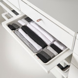 elfa 40 Decor Gliding Drawer Frame Front W600 - White