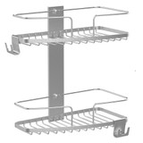 Better Living 2 Tier Shower Caddy - Stainless Steel