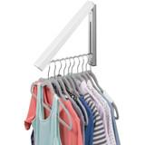 iDesign Brezio Wall Mount Clothes Hanger - White