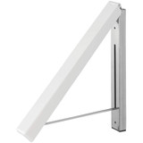 iDesign Brezio Wall Mount Clothes Hanger - White
