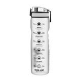 Ion 8 Leak Proof Motivator Drink Bottle 1L - Frosted Clear