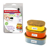 Erasable MultiUse Labels with Pen & Eraser