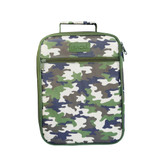 Sachi Kids Insulated Lunch Tote - Camo Green