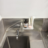 White Magic Stainless Steel i-Hook Sink Caddy