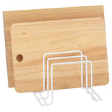 Howards Wire Kitchen Organiser Rack - White