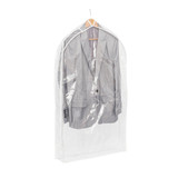 Howards Single Suit Bag - Clear
