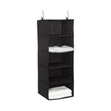 Howards 5 Shelf Garment Organiser Large - Black