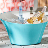 Double Wall Drinks Tub - Blue