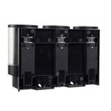 Better Living Aviva Triple Shower Dispenser - Matte Black