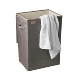 Howards Textured Fabric Laundry Hamper - Taupe