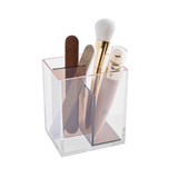 Signature Collection 3 Compartment Makeup Organiser - Bronze/Rose Gold