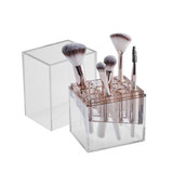 Signature Collection Makeup Brush Holder - Bronze/Rose Gold