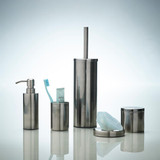 Howards Grey Metallic Soap Dispenser